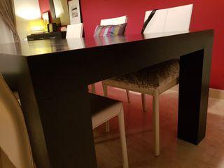 Mesa de comedor Bo concept y Regalo 6 sillas