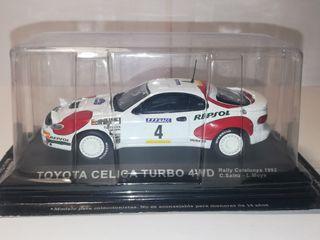 Toyota Celica turbo 4WD coche escala 1:43, Nuevo!!