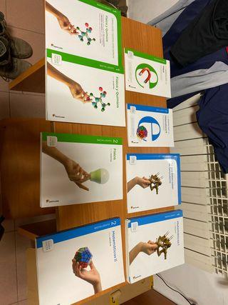Libros matemáticas y física bachillerato