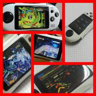 Consola videojocs portàtil videojuegos.