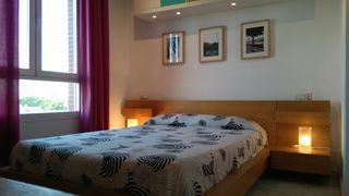 Conjunto dormitorio chapa de roble