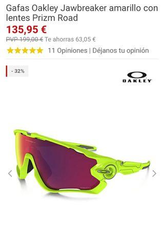 gafas de ciclismos oakley