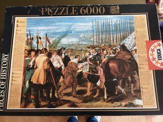 Puzzle 6000 piezas. La Rendición de Breda.