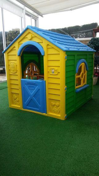 casita niños jardin