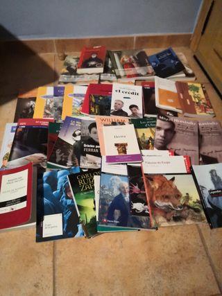 Venta de libros de lectura, ESO Bachillerato