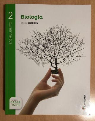 Libro de biología 2 bachillerato
