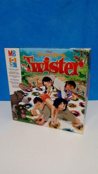 """Juego """" Twister """" del libro de la selva"""