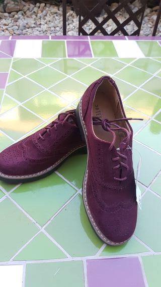 Zapatos cordones NUEVOS CON ETIQUETA