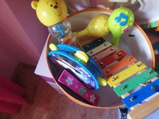 instrumentos musicales juguete