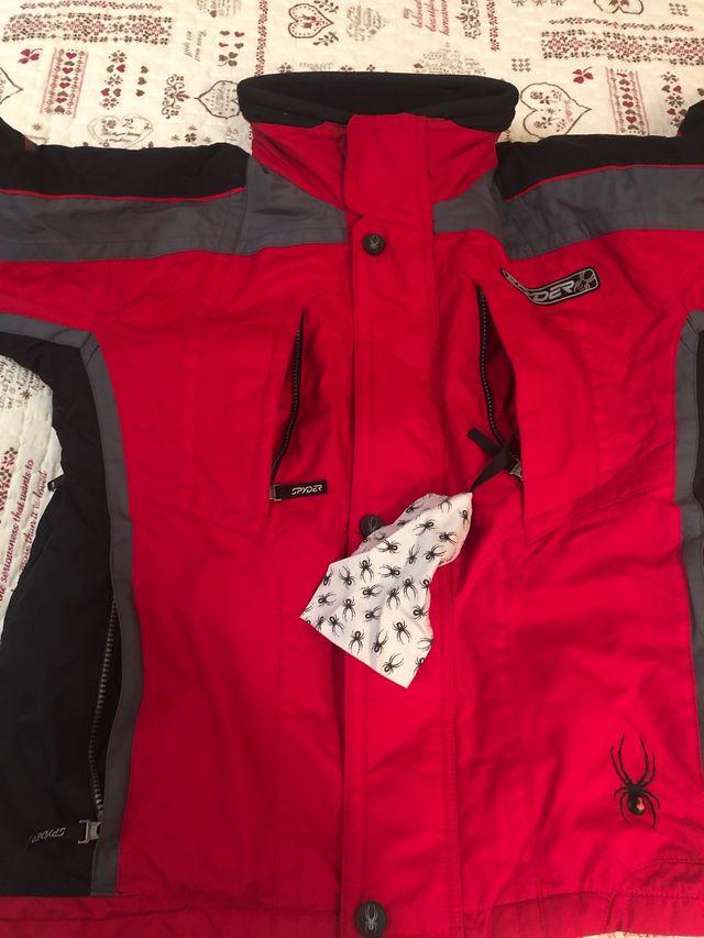 Ropa nieve spyder hombre, chaqueta y pantalon todo