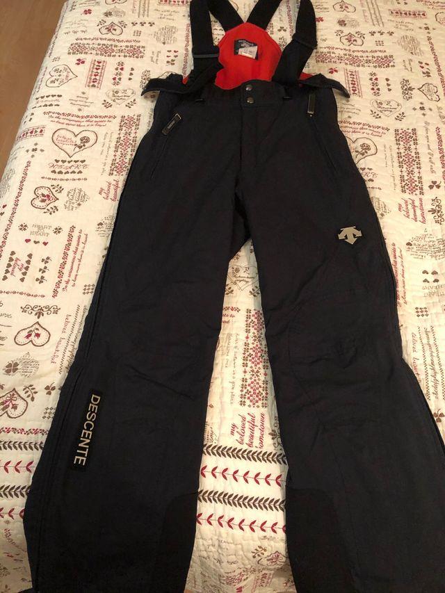Ropa nieve esquí Descente hombre chaqueta+pantalon