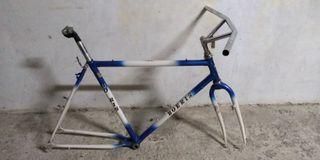 bici italiana antigua, cuadro foto