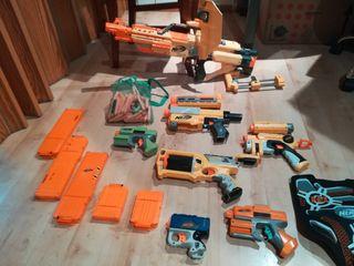 Colección armas Nerf