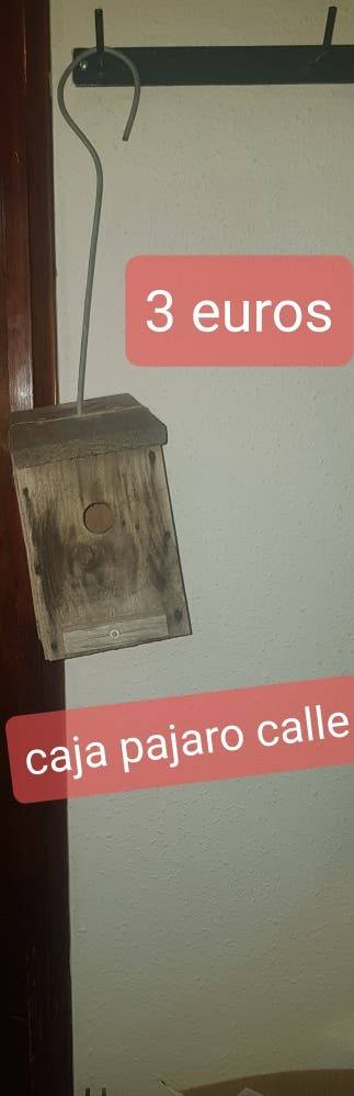casita para pájaros jardín