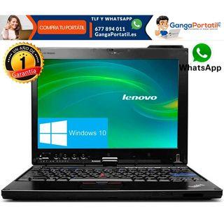 Portátil Lenovo X220, pantalla táctil / i5 / Cam /