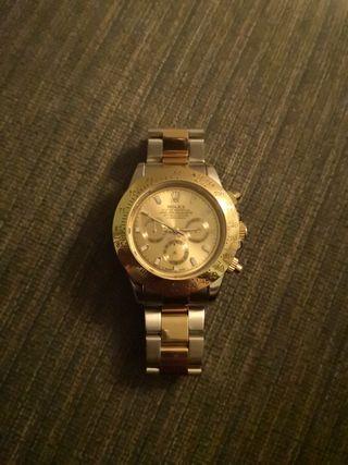 Rolex Daytona Gold/Silver Homage Watch