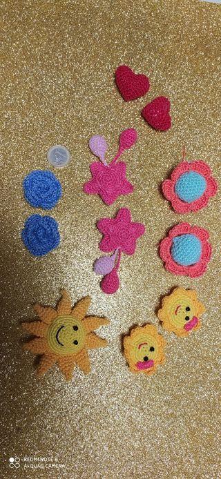 Horquillas coleteros NUEVOS para niñas