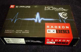 Tarjeta Gráfica Radeon RX 560 4GB