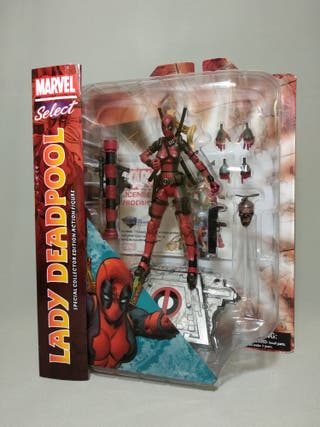 MARVEL SELECT. LADY DEADPOOL