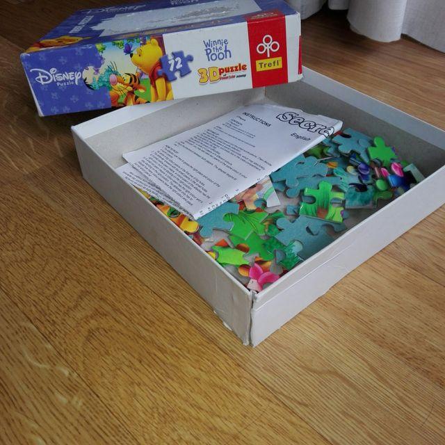 Lote de juego memory y puzzle 3D