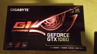 TARJETA GRAFICA GIGABYT GEFORCE GTX 1060 G1 GAMING