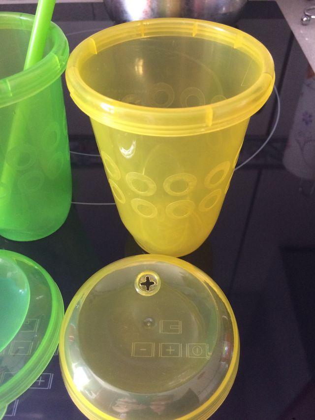 """Pack """"Cumpleaños"""" cuencos vasos niños plastico"""