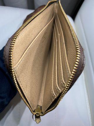 LOUIS Vuitton cartera zippy original