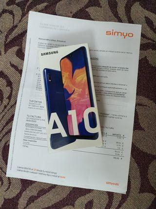 SAMSUNG A10 32GB AZUL PRECINTADO