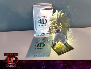 Cartas Realidad Aumentada Saiyans 4D