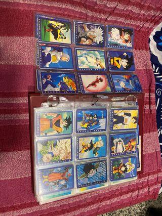 Cartas serie azul Dragon Ball
