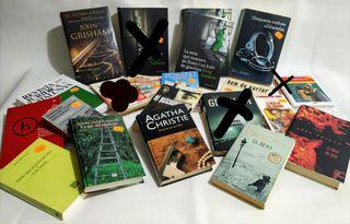 18 libros por 25 eur!!