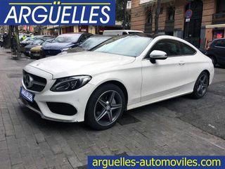 Mercedes Clase C C 220 d Coupé AMG 9G-Tronic COMO NUEVO 170cv