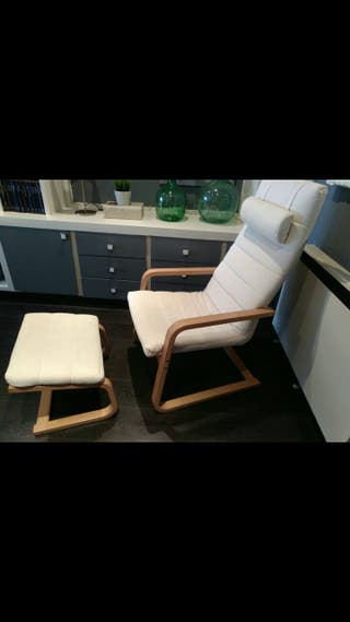 SILLON IKEA CON REPOSAPIES