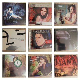 Varios cd's a 6 € la unidad