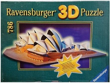 puzzle 3d 786 piezas opera de sidney