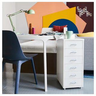 Sillas ODGER IKEA azul gris