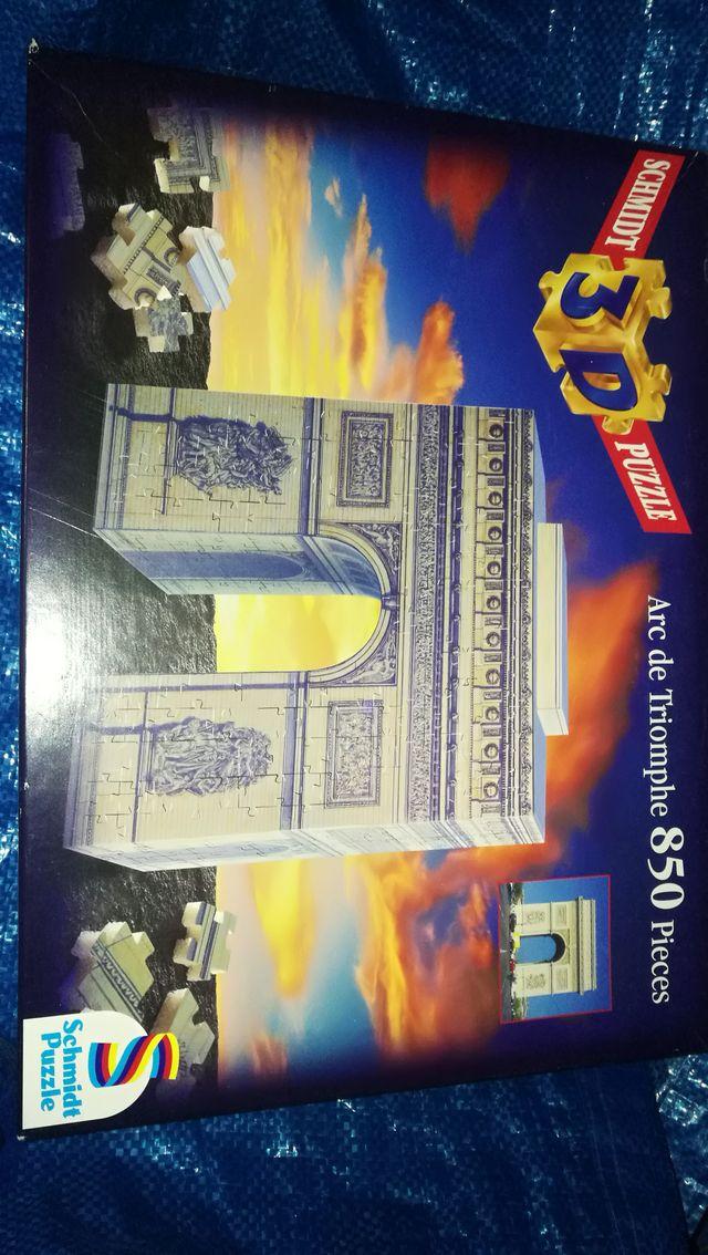 puzzle 3d arco del triunfo 850 piezas