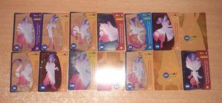 Cartas Dragon Ball Panini