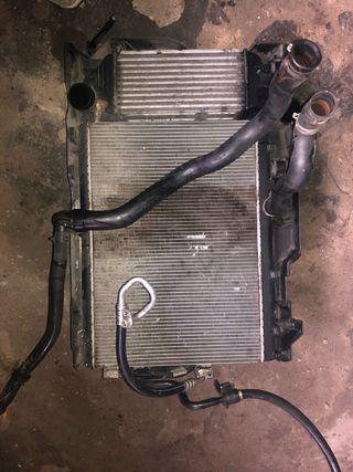 Conjunto radiadores Peugeot 407