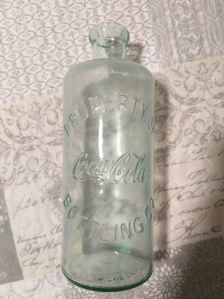 botella cristal Coca Cola