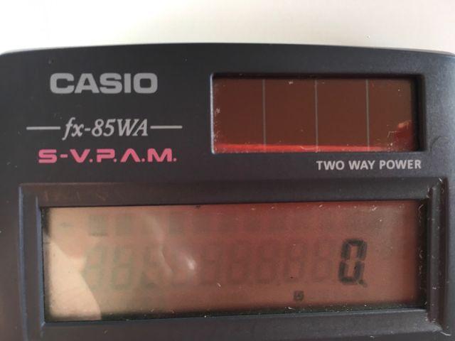 Calculadora Casio fx-85WA Original