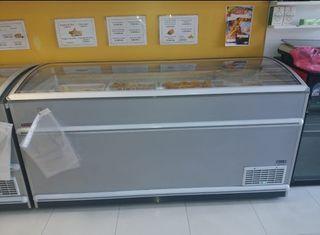 Congelador arcón expositor