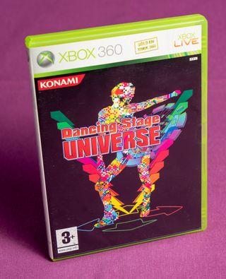 Juego Xbox Dancing Stage Universe