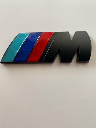 BMW M Adhesivo Negro