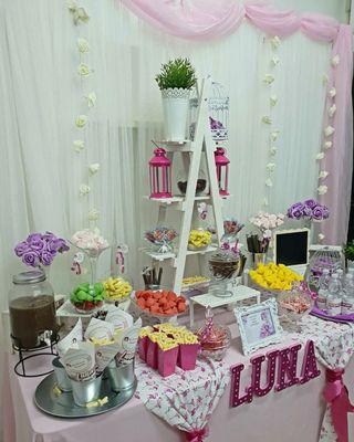 mesa dulce/Candy bar