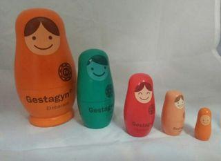 Muñecas matrioska rusas Gestagyn colección