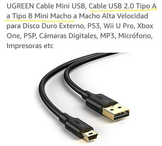 Cable para PS3, WII, XBOX...