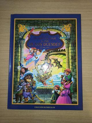 """libro """"el fabuloso mundo de los duendes"""""""