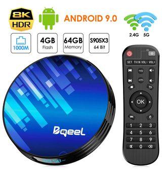 Tv box 4 gb 64 gb