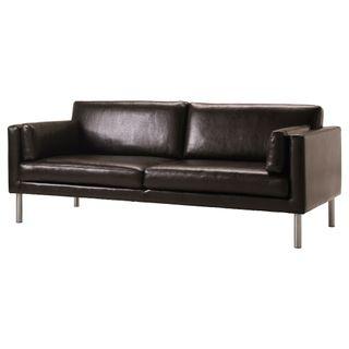 Sofá de piel Ikea de 799€ a 250€. Está impecable.